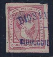 ESPAÑA 1873 - Edifil #157 - VFU - Carlisti