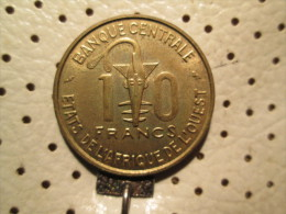 WEST AFRICAN STATES 10 Francs 1968  # 4 - Other - Africa