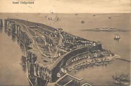 Insel Helgoland  Voir Cachet Dos (Bexhill On Sea - Hambourg Helgoland Seepost) - Pinneberg