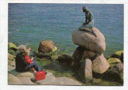 DENMARK - AK 255300 Kobenhavn / Copenhagen - The Little Mermaid - Denmark