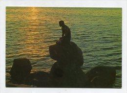 DENMARK - AK 255301 Kobenhavn / Copenhagen - The Little Mermaid - Sunrise - Denmark