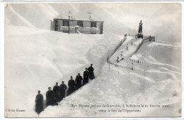 Mge Maurin Evèque De Grenoble, A LA SALETTE Le 10 Janvier 1912 ( 83342) - Non Classés