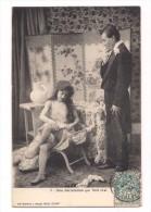 COUPLE COQUIN :  Une Déclaration Qui Finit Mal. N°3 (Femme Légèrement Nue) - Coppie