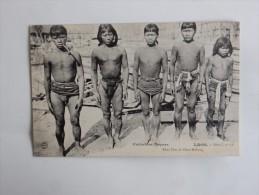 Carte Postale Ancienne : LAOS : Khas Hoc Du Haut-Mékong - Laos