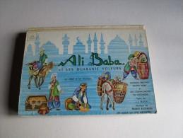Ali Baba Et Les Quarante Voleurs- Album Du Petit Ménestrel- Livre En Relief - Disque 33 Tours - Children