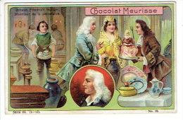 Chromo Chocolat MEURISSE Série III-10 - Johann Friedrich BÖTTGER Inventeur De La Porcelaine - Autres
