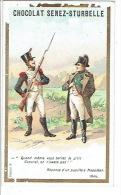 Chromo Chocolat SENEZ-STURBELLE SCHAERBEEK - Réponse D'un Pupille à Napoléon - Autres