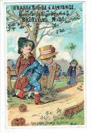 Chromo BRASSERIE DE L'ALLIANCE BRUXELLES - Les Petits Joeurs De Boules - Trade Cards