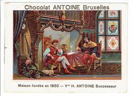 Chromo Chocolat ANTOINE BRUXELLES - Entrevue De Jacques VAN ARTEVELDE Avec EDOUARD III - Autres
