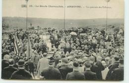 DEP 55 LACHALADE LA HAUTE CHEVAUCHEE VUE GENERALE DES TRIBUNES - France