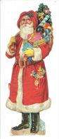 Chromo-découpi (15.5 X  5.5 Cm) - Père Noël - Santa Claus - Motif 'Noel'