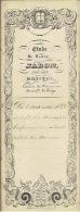 Acte Notarié De 1858 DONCEEL Location Aux Enchères De Pièces De Terres (8 Lots) Pr Le Bureau De Bienfaisance De DONCEEL - Manuscripts