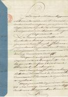Acte Notarié De 1836 Vente De Terres à MERY Par Marie Catherine  HENRY épse GILMAN Pour Guillaume HENRY De CREVECOEUR - Manuscripts