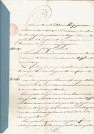 Acte Notarié De 1831 MERY Vente De Terre Par Dieudonné ADAM Pour Jean Guillaume HENRY De CREVECOEUR - Manuscripts