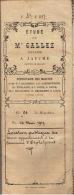 Acte Notarié De 1917 Location Aux Enchères De Terres De La Commune D'ORP-LE-GRAND - Manuscripts