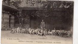 DIENAY PROPRIETE VIEL-PICARD LE CHENIL ANIMEE (THEME CHASSE) - France