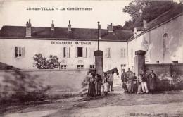 IS-SUR-TILLE LA GENDARMERIE GENDARMES - Is Sur Tille