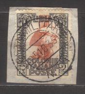 7247- Libya , Italian Colonies , Scott 50   – Used - Libya