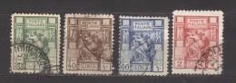 7248- Libya , Italian Colonies , Scott 39a-43a   – Used - Libya