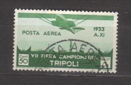 7264- Libya , Italian Colonies , Scott C8   – Used - Libya