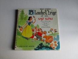 Blanche Neige Et Les Sept Nains-Album Le Petit Ménestrel - 33 Tours - Children