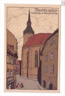 NAUMBURG Gatzstrasse Litho Chromos - Naumburg (Saale)