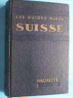 """Les Guides Bleus """" SUISSE """"  / 1958 / 63 Librairie Hachette Paris ( Complet Avec Des Plans ) !! - Voyages"""