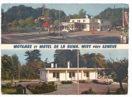 SUI.0080/ Motgare Et Motel De La Buna - Mies Près Genève ( Station Essence ) - GE Ginevra
