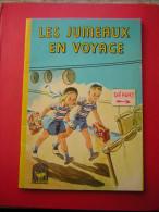 LES JUMEAUX EN VOYAGE  COLLECTION CANARI   TEXTE ADAPTE DE J H BERG  ILLUSTRATIONS DE J SMALLEY  1964 LIBRAIRIE CHARPENT