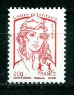 Marianne Ciappa Et Kawéna En Taille Douce Lettre Prioritaire De La Feuille Marianne Et La Jeunesse Neuf ** - France