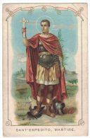 HC11      Santini - Image Pieuse - Holy Card - Sant'Espedito Martire - Santini