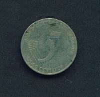 ECUADOR  -  2000  5c  Circulated Coin - Ecuador