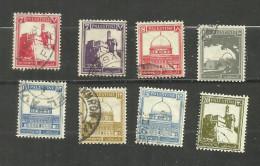 Palestine N°68, 68A, 69A, 70, 71, 72, 73, 74 Cote 3.35 Euros - Palestine