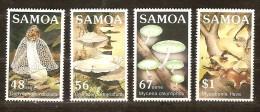 Samoa 1985  Yvertnr. 580-83 *** MNH Cote 7,50 Euro Flore Champignons Paddestoelen - Samoa