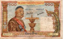 LAOS : 100 Kip 1957 (vf) - Laos