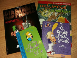 Lot BD - Kid Paddel- Simpson - Titeuf - Books, Magazines, Comics