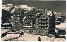 CH3728    WENGEN : Hotel Silberhorn  ( E. Gyger 7480) - BE Berne