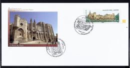 1er Jour Carte . Palais Des Papes Avignon 7 Mars 2009 - 2010-....