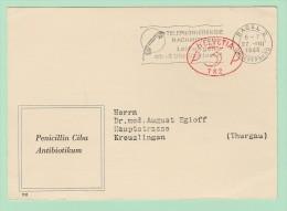 S12. EMA Freistempel 782 Ciba Basel 27.8.46. Penicillin Antibioticum  ( Medecine ) - Postage Meters