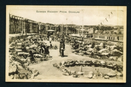 ISLE OF MAN  -  Douglas  Sunken Rockery  Unused Vintage Postcard - Ile De Man