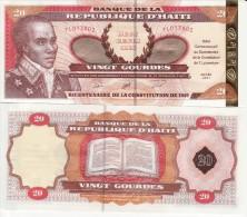 HAITI   20    Gourdes  Commemorative Issue  P271   2001   UNC - Haiti