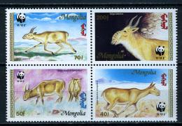 1995 - MONGOLIA  - Catg. Mi. 2562/2565 - WWF - NH - (CAT20151182265C) - Mongolia