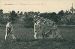 """77 COURTOMER / Le Menhir De Courtomer, Dit La """"Pierre-Couvée"""" / - France"""