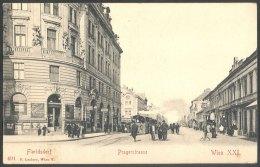 Austria, 1920, Wien, Vienna, Floridsdorf, Pragerstrasse, Pictorial Postcard - Vienne