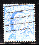 Great Britain Used Scott #131 2 1/2p Edward VII, Ultramarine - Thinned - 1902-1951 (Rois)
