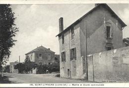 44  SAINT   LYPHARD  MAIRIE  ET  ECOLE  COMMUNALE - Saint-Lyphard