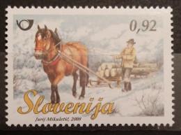 Slovenia, 2008, Mi: 691 (MNH) - Paarden