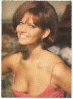 Vintage Original 1950´s Postcard Claudia Cardinale - Entertainers