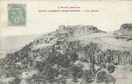 Ardèche / 07 - L'Ardèche Pittoresque - SAINT LAURENT SOUS COIRON - Vue Générale - Autres Communes