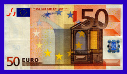"""50 EURO """"X"""" GERMANY FIRMA DUINSBERG R004D1 AUNC SEE SCAN!!!!! - EURO"""